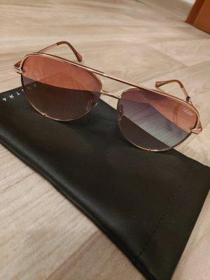 Quay Round Sunglasses rose-gold-coloured