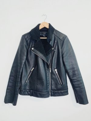 Forever 21 Flight Jacket black