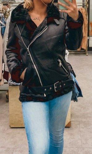 Boutique Comtesse Veste motard noir
