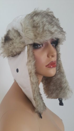 Aviator Hat white