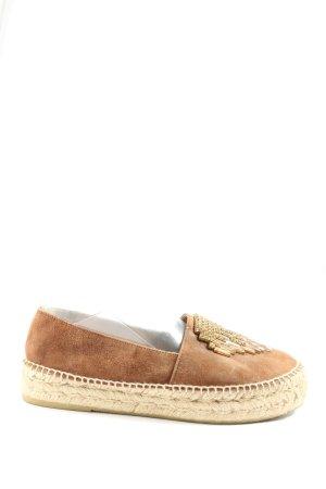Pimientos Espadrille Sandals brown casual look