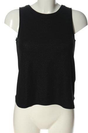 Pimkie ärmellose Bluse schwarz Casual-Look