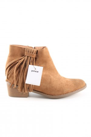 Pimkie Ankle Boots hellorange Casual-Look