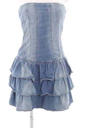 Pimkie Bandeau Dress blue casual look