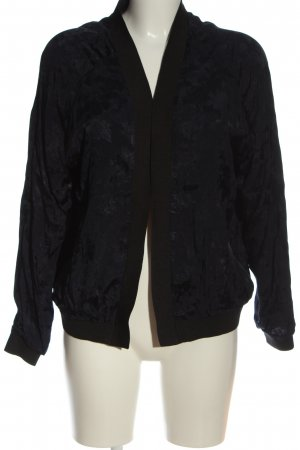 Pimkie Blouse Jacket black-blue abstract pattern casual look