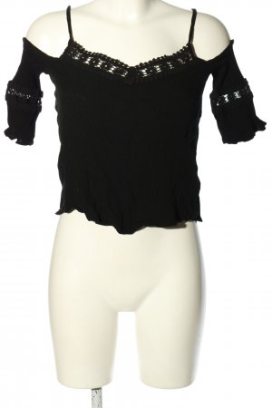 Pimkie Blouse topje zwart casual uitstraling