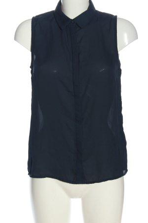 Pimkie Blouse topje blauw zakelijke stijl