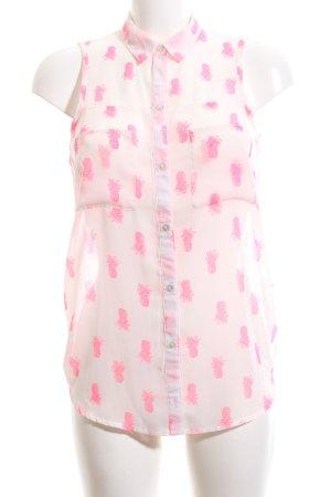 Pimkie Blouse topje roze volledige print casual uitstraling