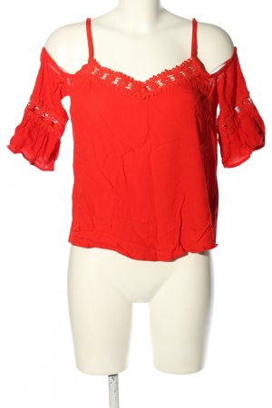 Pimkie Blouse topje rood casual uitstraling