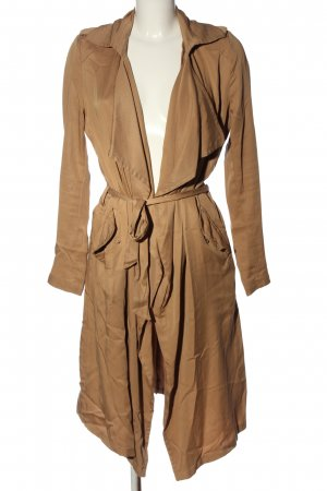 Pimkie Długi płaszcz brązowy W stylu casual