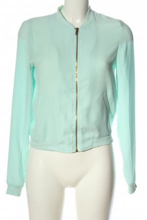 Pimkie Bomber Jacket turquoise casual look