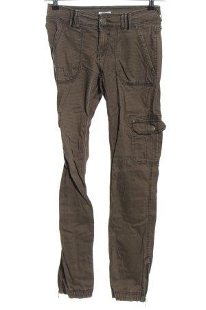 Pimkie Pantalone cargo grigio chiaro stile casual
