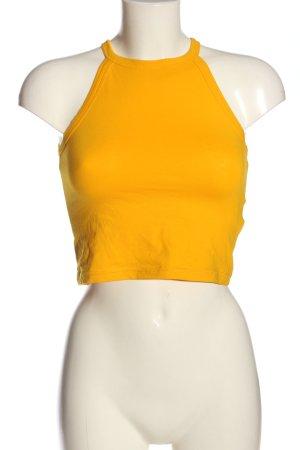 Pimkie Top corto arancione chiaro stile casual