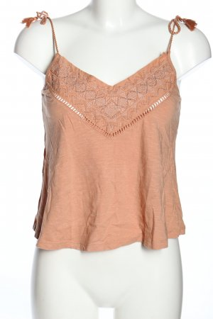 Pimkie Cut out top nude gestippeld casual uitstraling
