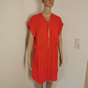 Pimkie Blouse Dress red polyester