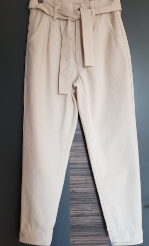Pimkie Paperbag Trousers natural white