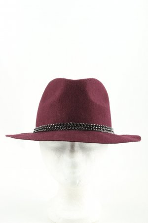 Pimkie Felt Hat red business style