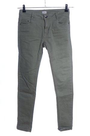Pimkie Pantalon cinq poches kaki style décontracté