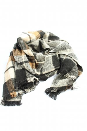 Pimkie Fringed Scarf check pattern casual look