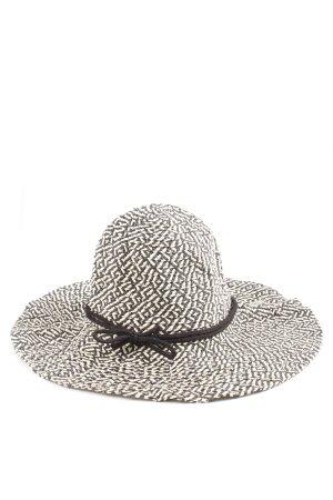 Pimkie Cloche Hat black-cream allover print casual look