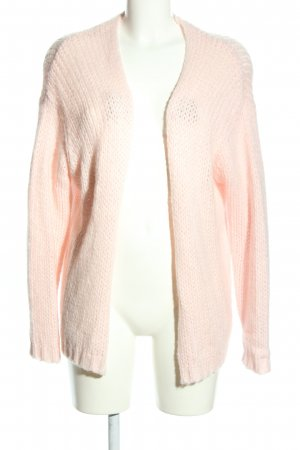 Pimkie Grobstrickjacke creme Zopfmuster Casual-Look