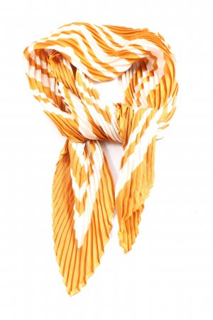 Pimkie Halsdoek wit-licht Oranje abstract patroon casual uitstraling