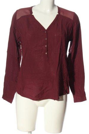 Pimkie Camicia blusa rosso stile casual