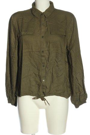 Pimkie Hemd-Bluse khaki Business-Look