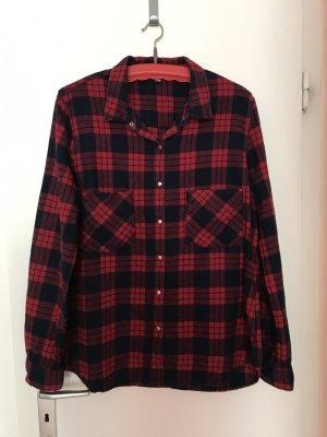 Pimkie Hemd L/40 rot-blau-schwarz kariert