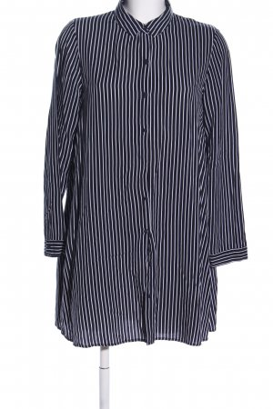 Pimkie Shirtwaist dress black-white striped pattern casual look
