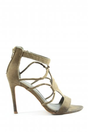 Pimkie High Heel Sandaletten hellgrau Casual-Look