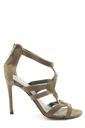 Pimkie High Heel Sandaletten khaki Casual-Look