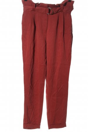Pimkie High Waist Trousers red casual look