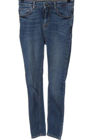 Pimkie Jeans a vita alta blu stile casual