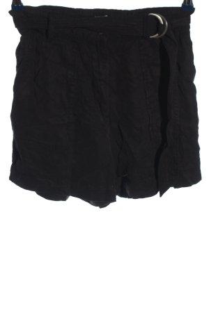 Pimkie Short taille haute noir style décontracté