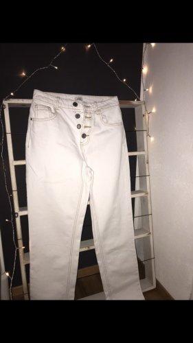 Pimkie Peg Top Trousers white