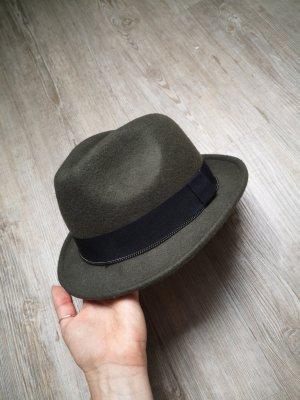 Pimkie Hut M / L grün khaki schwarz