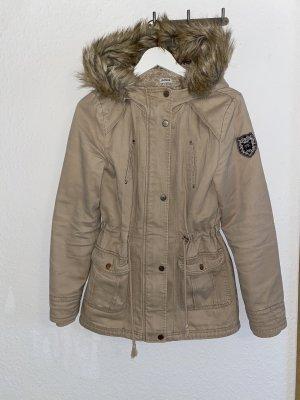 Pimkie Fake Fur Jacket beige
