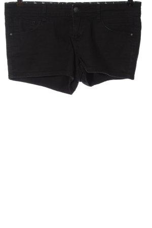 Pimkie Pantaloncino di jeans nero stile casual