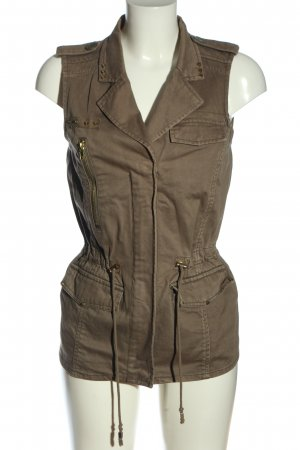 Pimkie Denim Vest brown casual look