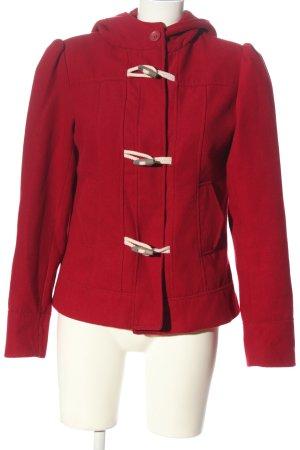 Pimkie Cappotto con cappuccio rosso stile casual