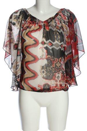 Pimkie Chemisier kimono imprimé allover style décontracté