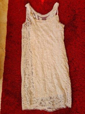 Pimkie Sukienka tuba w kolorze białej wełny