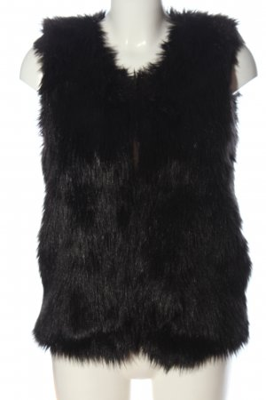 Pimkie Fake Fur Vest black casual look