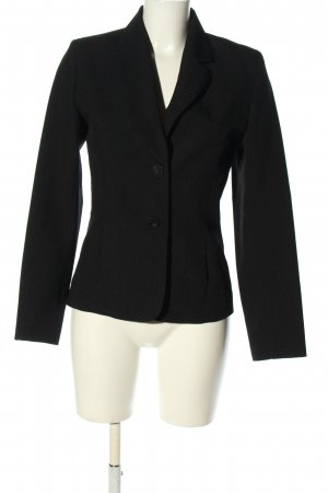 Pimkie Kurz-Blazer schwarz Business-Look
