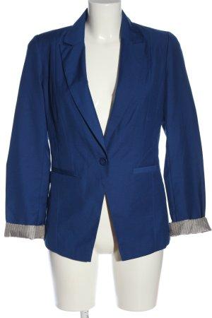 Pimkie Blazer court bleu-gris clair style décontracté