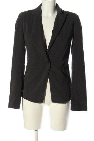 Pimkie Korte blazer zwart gestippeld zakelijke stijl