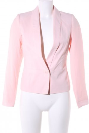 Pimkie Kurz-Blazer pink Business-Look