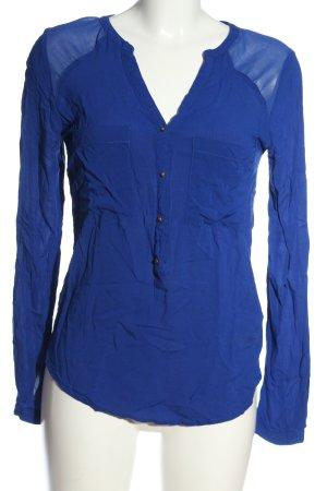 Pimkie Langarm-Bluse blau Casual-Look