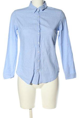 Pimkie Langarm-Bluse blau Business-Look